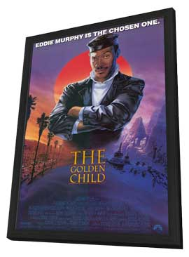 The Golden Child - 11 x 17 Movie Poster - Style A - in Deluxe Wood Frame