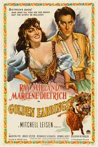 Golden Earrings - 27 x 40 Movie Poster - Style A