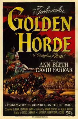 Golden Horde - 11 x 17 Movie Poster - Style A