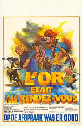 Golden Rendezvous - 11 x 17 Movie Poster - Belgian Style A
