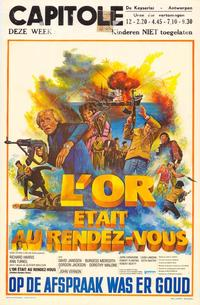 Golden Rendezvous - 27 x 40 Movie Poster - Belgian Style A