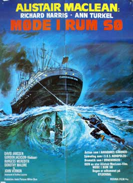 Golden Rendezvous - 27 x 40 Movie Poster - Danish Style A