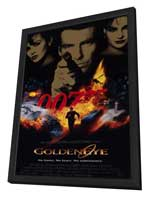 Goldeneye - 11 x 17 Movie Poster - Style A - in Deluxe Wood Frame