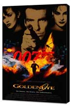 Goldeneye - 27 x 40 Movie Poster - Style A - Museum Wrapped Canvas