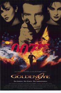 Goldeneye - 43 x 62 Movie Poster - Bus Shelter Style B