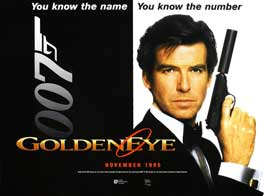 Goldeneye - 11 x 17 Movie Poster - UK Style A