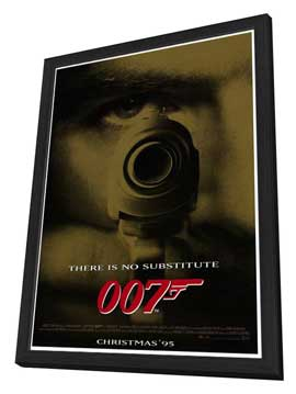 Goldeneye - 27 x 40 Movie Poster - Style B - in Deluxe Wood Frame