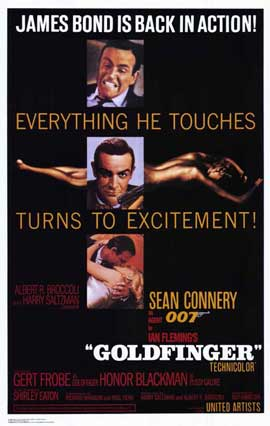 Goldfinger - 11 x 17 Movie Poster - Style A