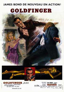 Goldfinger - 11 x 17 Poster - Foreign - Style B