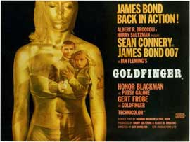 Goldfinger - 11 x 17 Poster - Foreign - Style A