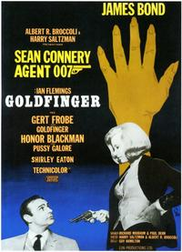 Goldfinger - 11 x 17 Movie Poster - Swedish Style A