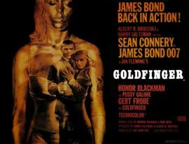 Goldfinger - 11 x 17 Movie Poster - Style C