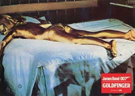 Goldfinger - 11 x 14 Poster German Style A