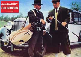 Goldfinger - 11 x 14 Poster German Style G