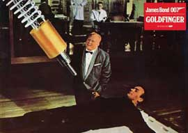 Goldfinger - 11 x 14 Poster German Style H