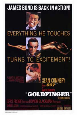 Goldfinger - 27 x 40 Movie Poster - Style A