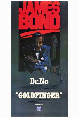 Goldfinger - 27 x 40 Movie Poster - Style B