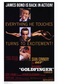 Goldfinger - 43 x 62 Movie Poster - Bus Shelter Style A
