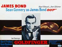 Goldfinger - 11 x 17 Movie Poster - Belgian Style A