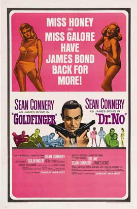 Goldfinger - 11 x 17 Movie Poster - Style H