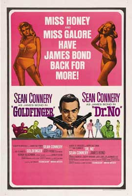 Goldfinger - 27 x 40 Movie Poster - Style C
