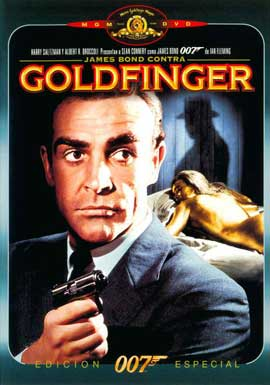 Goldfinger - 11 x 17 Movie Poster - Spanish Style A