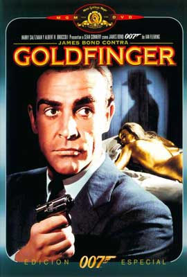 Goldfinger - 27 x 40 Movie Poster - Spanish Style A