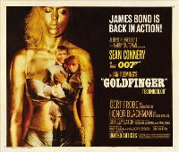 Goldfinger - 30 x 40 Movie Poster UK - Style A