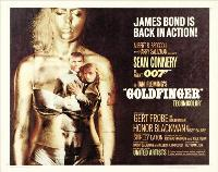 Goldfinger - 30 x 40 Movie Poster UK - Style B