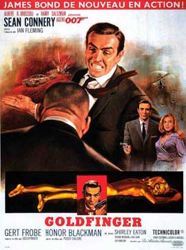 Goldfinger - 11 x 17 Movie Poster - Style L