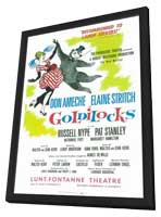 Goldilocks (Broadway) - 11 x 17 Poster - Style A - in Deluxe Wood Frame