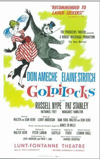 Goldilocks (Broadway) - 11 x 17 Poster - Style A