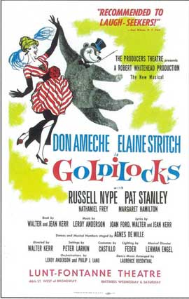 Goldilocks (Broadway) - 14 x 22 Poster - Style A