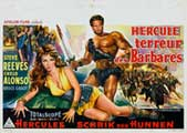 Goliath and the Barbarians - 11 x 17 Movie Poster - German Style A
