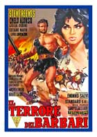 Goliath and the Barbarians - 11 x 17 Movie Poster - Italian Style B