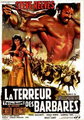 Goliath and the Barbarians - 11 x 17 Movie Poster - Belgian Style A