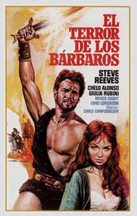 Goliath and the Barbarians - 11 x 17 Movie Poster - Spanish Style B