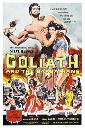 Goliath and the Barbarians - 27 x 40 Movie Poster - Style A