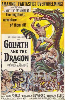 Goliath and the Dragon - 11 x 17 Movie Poster - Style A