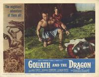 Goliath and the Dragon - 11 x 14 Movie Poster - Style B
