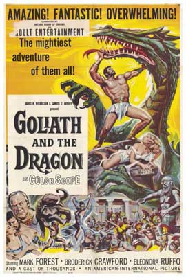 Goliath and the Dragon - 27 x 40 Movie Poster - Style A