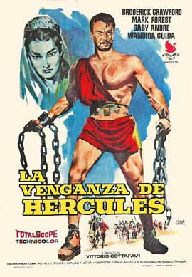 Goliath and the Dragon - 11 x 17 Movie Poster - Spanish Style A