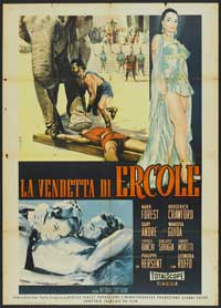 Goliath and the Dragon - 11 x 17 Movie Poster - Italian Style A