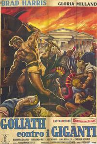 Goliath and the Giants - 11 x 17 Movie Poster - Italian Style A