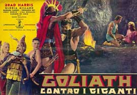 Goliath and the Giants - 11 x 17 Movie Poster - Italian Style B