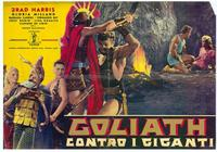 Goliath and the Giants - 27 x 40 Movie Poster - Italian Style B