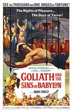 Goliath and the Sins of Babylon - 11 x 17 Movie Poster - Style A