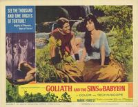Goliath and the Sins of Babylon - 11 x 14 Movie Poster - Style A
