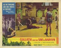 Goliath and the Sins of Babylon - 11 x 14 Movie Poster - Style B