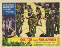 Goliath and the Sins of Babylon - 11 x 14 Movie Poster - Style D